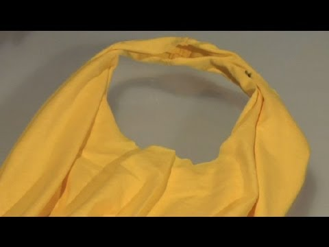 How to Repurpose an Old T-Shirt : T-Shirt Styles