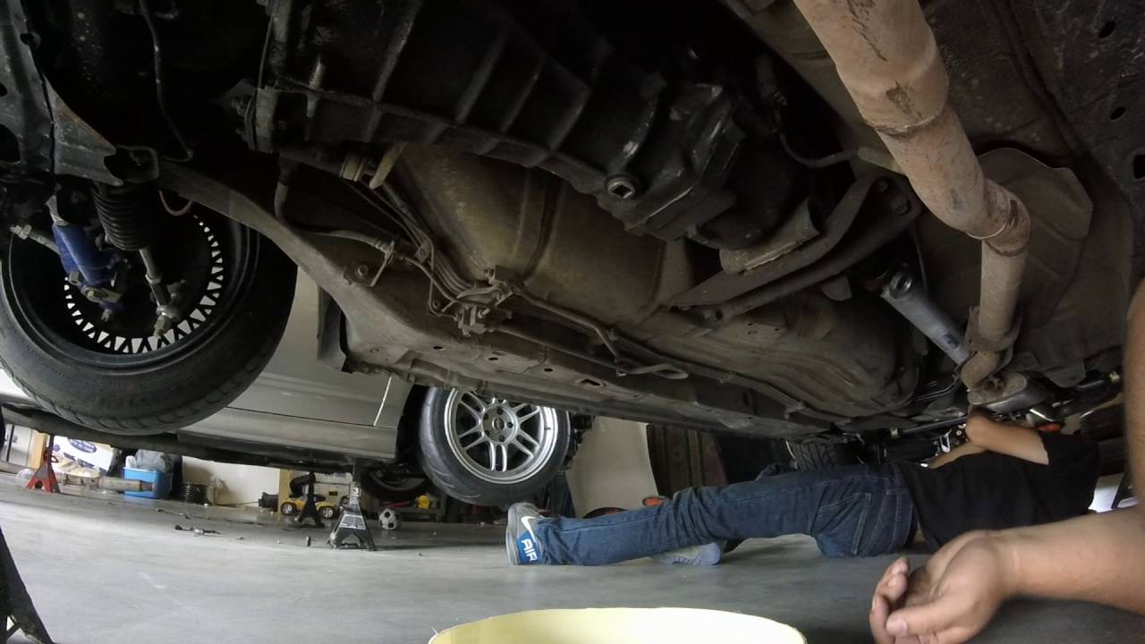 S14 Transmission Removal With My Son