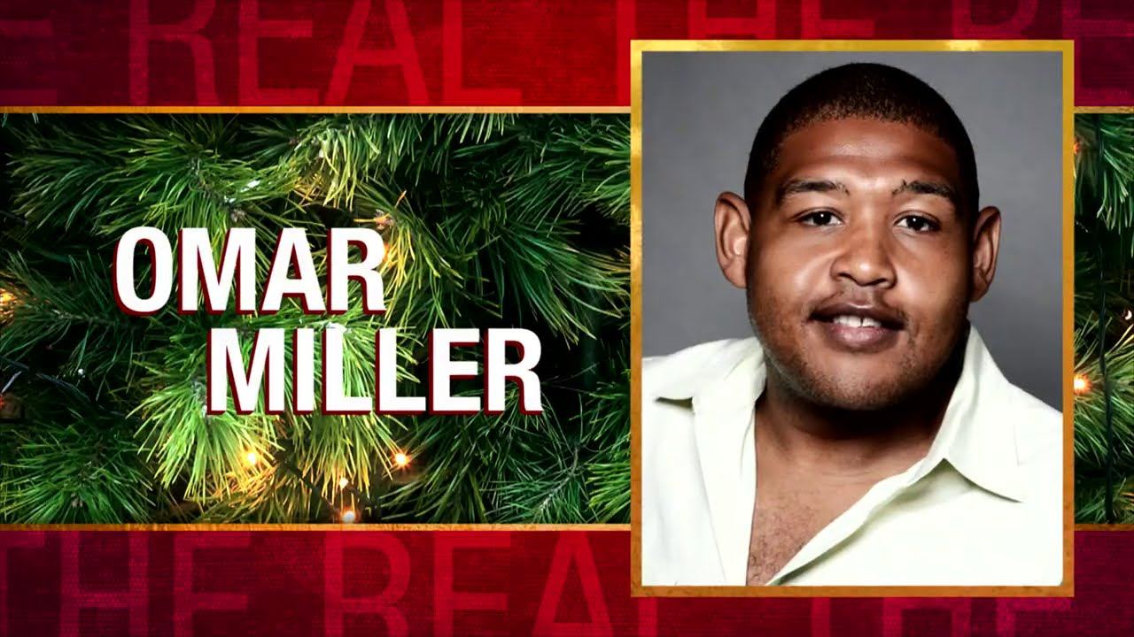 Thursday on 'The Real': Omar Miller, Amber Ruffin