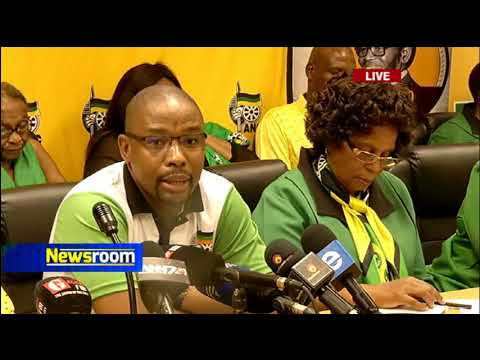 KZN ANC Youth and Women's leagues address the media regarding ruling by the court