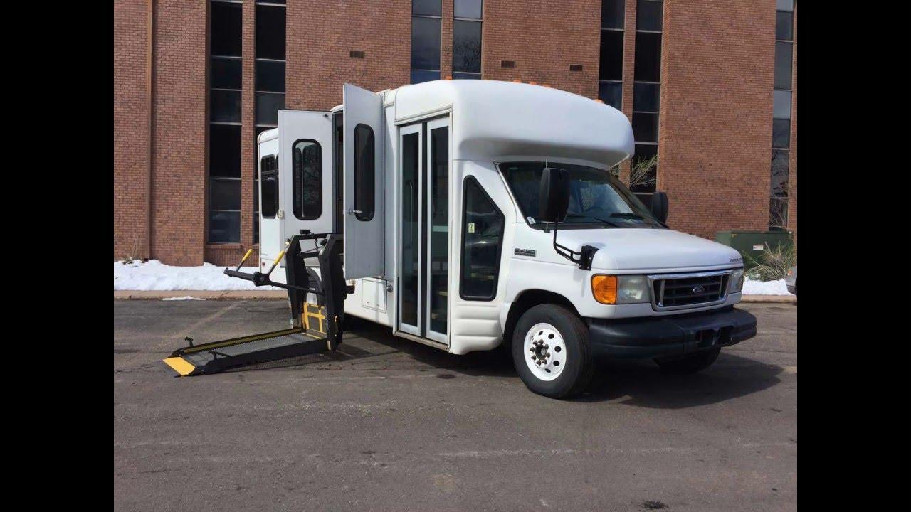 2007 ford e450 starcraft shuttle bus handicap lift for sale stk 7da51655 co fleet mobility [ 1280 x 720 Pixel ]