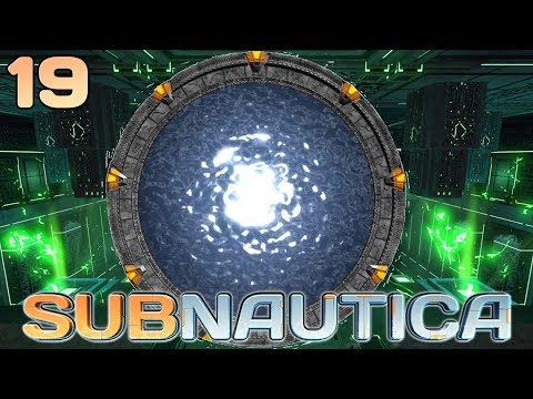 Stargate in the Alien Power Plant | Lets Play Subnautica Survival Gameplay Playthrough | 19