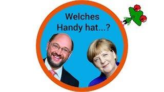 Diese Handys nutzen Merkel, Schulz und Co.