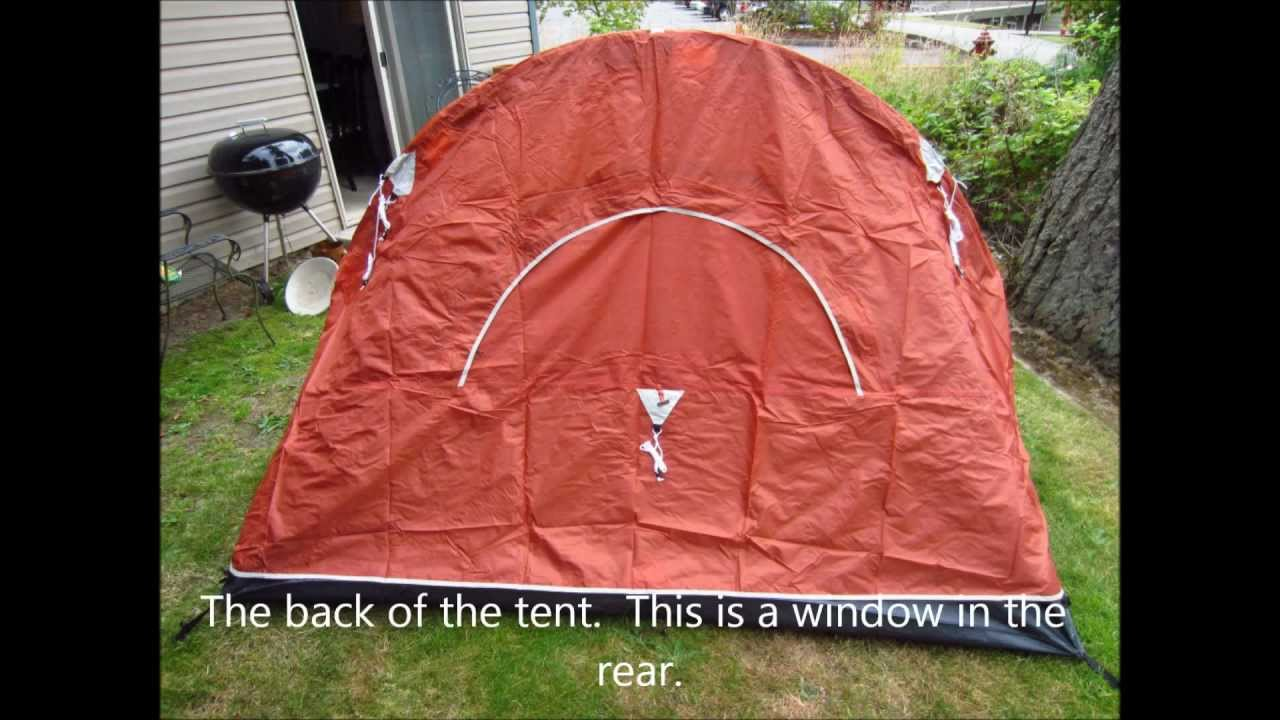YouTube Premium & Putting up the Coleman Hooligan Two Person Tent - YouTube