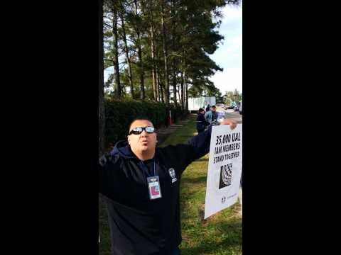 IAM IAH UNITED RALLY - INTERNATIONAL ASSOCIATION OF MACHINIST