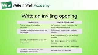 Professional Writing Skills • Part 1 • Lesson 2