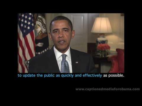Pres. Obama's May 2 Address - Multilingual