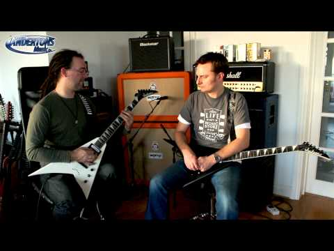 Jackson JS32T King V vs Randy Rhoads - Captain goes Metal!