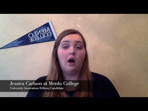 Jessica Carlson at Menlo CollegeRedesigning