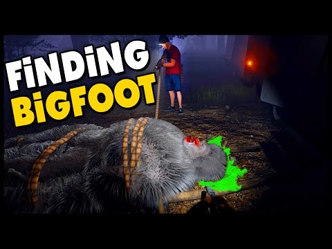 Finding Bigfoot - BIGFOOT CAUGHT & BIGFOOT KILLED! Multiplayer Gameplay w/Blitz - Sasquatch Sighting