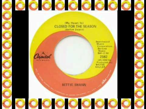 Bettye Swann - ( My Heart Is ) Closed For The Season (Capitol) #Make Celebrities History
