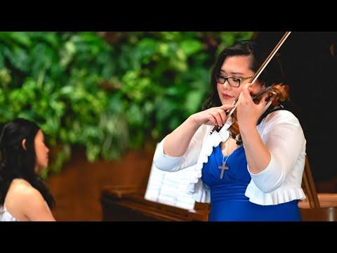 Grace UnHae Kwon I Beau Soir I Claude Debussy I (arr. Heifetz) MV