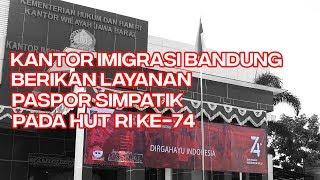 Paspor Simpatik Kantor Imigrasi Bandung