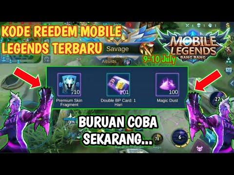 Kode Reedem Mobile Legends Terbaru 7 july 2020 Buruan Coba ...