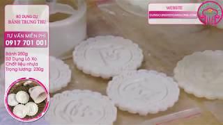 Bộ dụng cụ làm bánh trung thu: khuôn lò xo, nhiệt kế chất lỏng, đồng hồ quả trứng