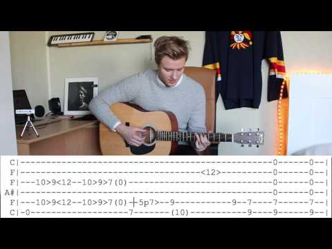 Ben Howard - Evergreen (Tutorial)