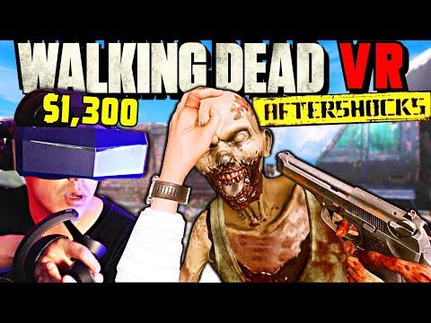 WALKING DEAD VR On 8K Headset Has Me Shook!