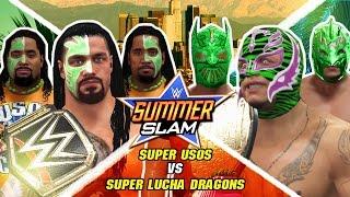 WWE 2K Mods - Super Luchas vs Super Usos (Roman Reigns & The Uso