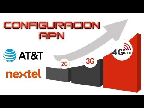 APN AT&T y NEXTEL para 3G 4G y 4G LTE Internet 2016