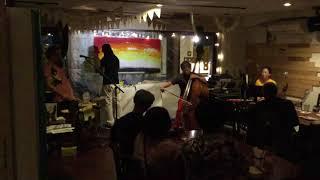 ジャズカリ楽団 +Augustin Hakizimana (live painting)@DoBeDoBar ジャ...