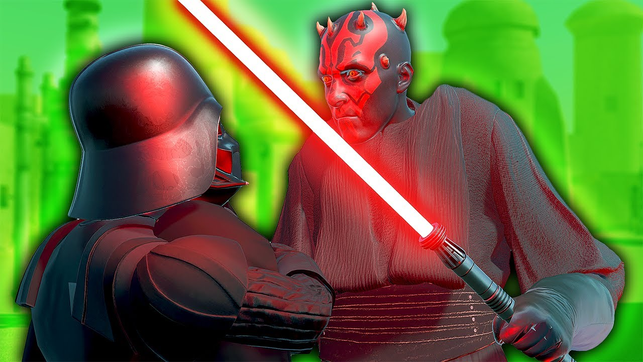 Can Darth Maul DEFEAT Darth Vader?! - Blade and Sorcery VR Mods (Star Wars)