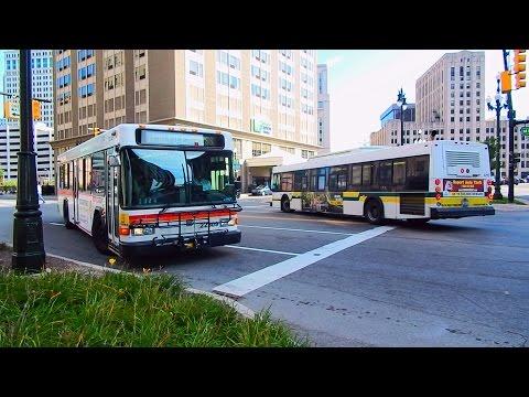 🚍/📹 Detroit DOT & SMART: Bus Observations (September 2015) - Part 2/2