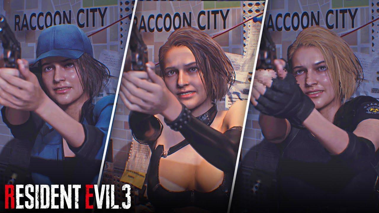 12 Best Modded Costumes For Jill Resident Evil 3 Remake Youtube
