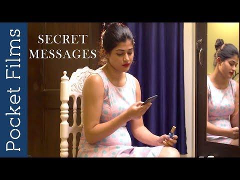 Wife discovers her husband's secret affair | Hindi Short Film - Secret messages