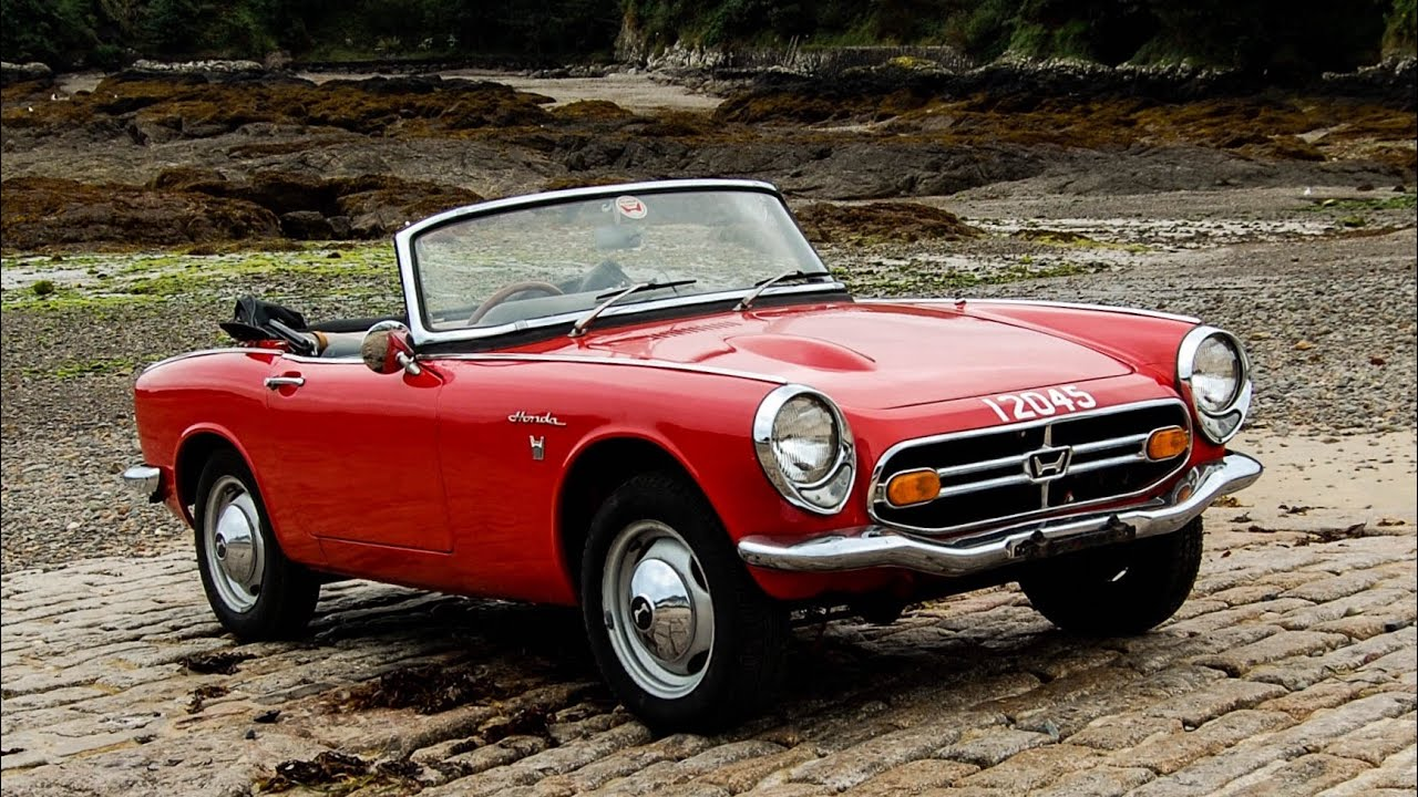 honda s800 the latest addition to the honda uk heritage fleet youtube. Black Bedroom Furniture Sets. Home Design Ideas