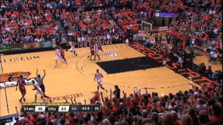 OSU vs. Stanford 1/7/12 - Game Highlights