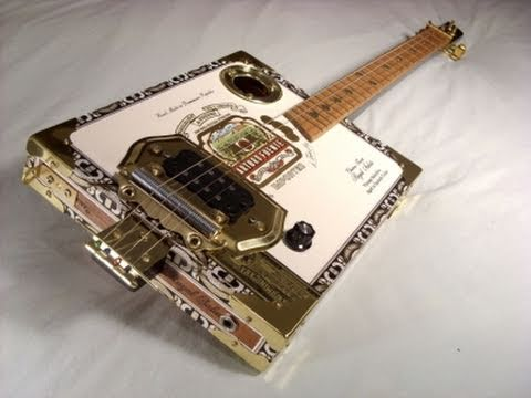 cigar box guitar arturo fuente electric model closer look and short demo youtube. Black Bedroom Furniture Sets. Home Design Ideas