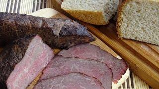 Как коптить мясо в домашних условиях. Мраморная говядина варёно-копчёная.
