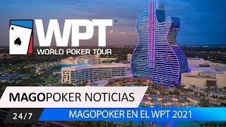 WPT 2021, MagoPoker presente en el Hard Rock Lucky Hearts Poker Open 2021 #WPT #Poker #MagoPoker