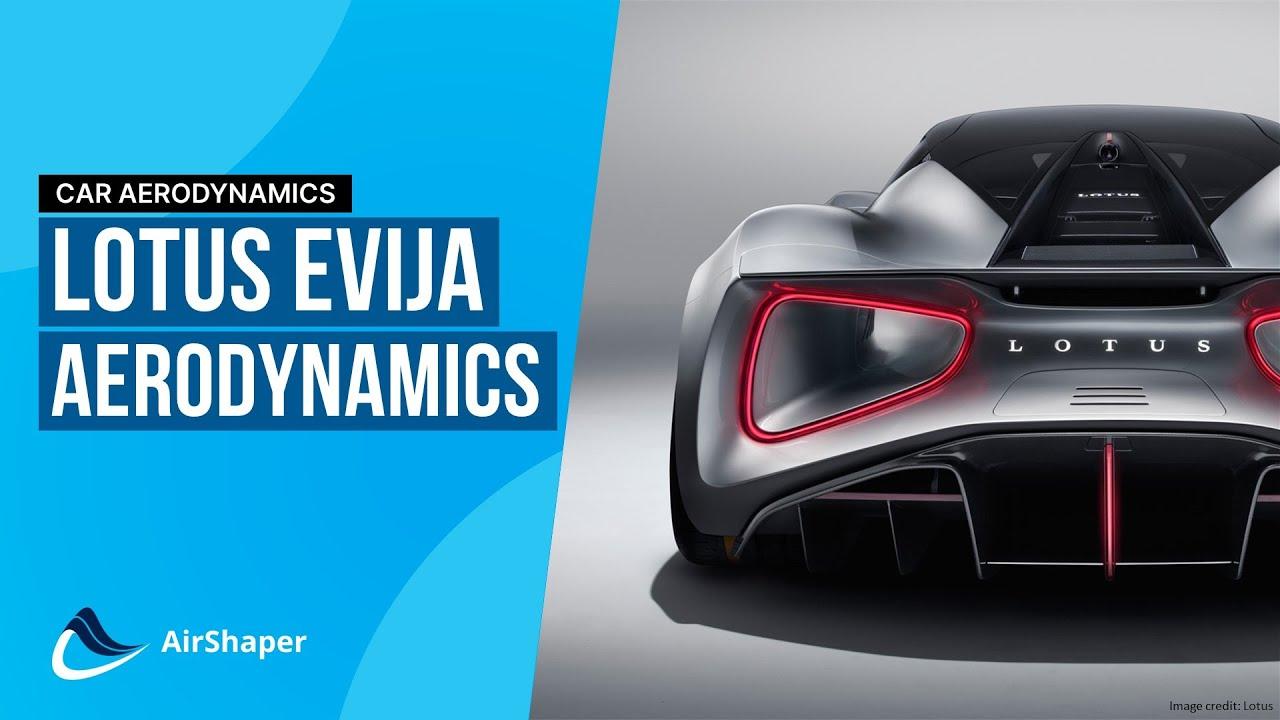 Hypercar Aerodynamics - 2000hp Lotus Evija