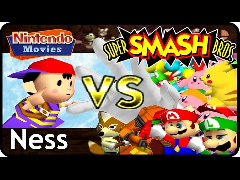 Super Smash Bros. - Adventure Ness
