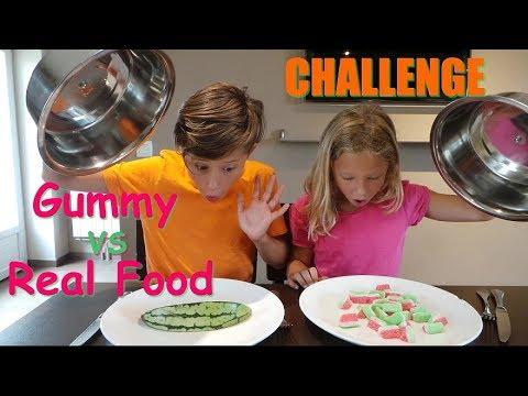 Challenge Gummy vs Real Food