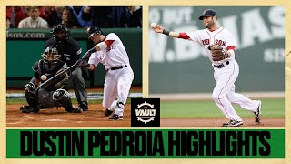 Dustin Pedroia's GREAT moments throughout his career!