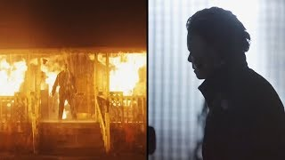 Halloween Kills FIRST LOOK! Michael Myers Escaping Burning Building And More! (Halloween 2020)