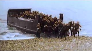 """Фильм 9-й """"Высадка союзников в Нормандии"""" Война в цвете 1939-1945 Уникальный проект о войне"""