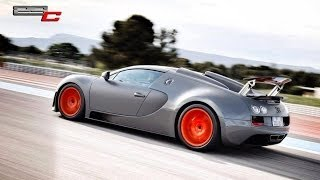 First Bugatti Vitesse Test Drive in Paul Ricard (Full Video)