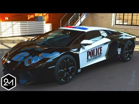 Top 10 World Fastest Police Vehicles In The World