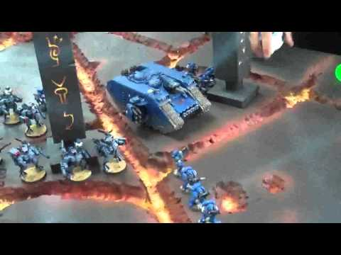 Ultramarines vs Nids 01 Volcano World (all armies currently for sale)