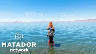 Epic fishing: Pyramid Lake, Nevada