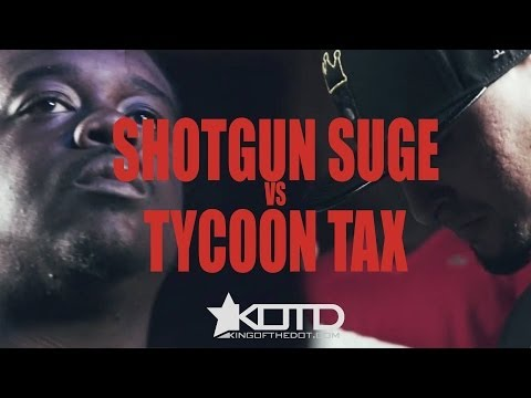 KOTD - Rap Battle - Tycoon Tax vs Shotgun Suge
