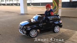 Купить детский электромобиль  Mersedes Benz ML 63 AMG  на pushishki.ru(Детский электромобиль Mercedes Benz ML 63 AMG это не просто игрушка, а точная лицензионная копия настоящего автомоби..., 2016-01-07T14:10:32.000Z)