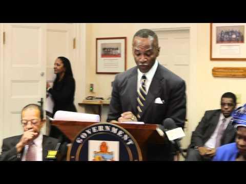 Minister Michael Scott's Post Throne Speech Address