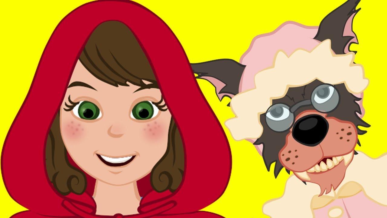 Caperucita Roja y el Lobo Feroz cuentos infantiles para dormir & animados