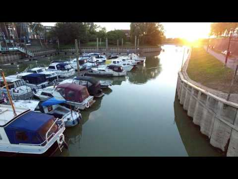 Laag water IJssel Zutphen 16-10-2016