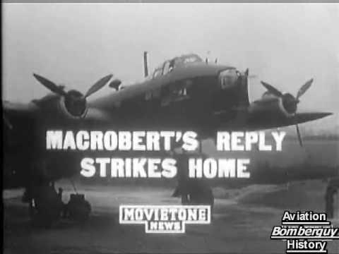 Short Stirling Bomber (better Quality Footage)