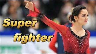 Евгения Медведева Олимпийская чемпионка на своем 3 ем чемпионате мира на пьедестале как всегда